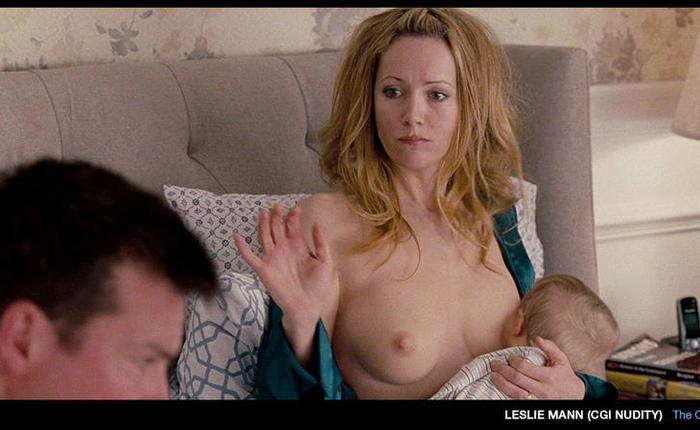 Mann nude leslie Leslie Mann