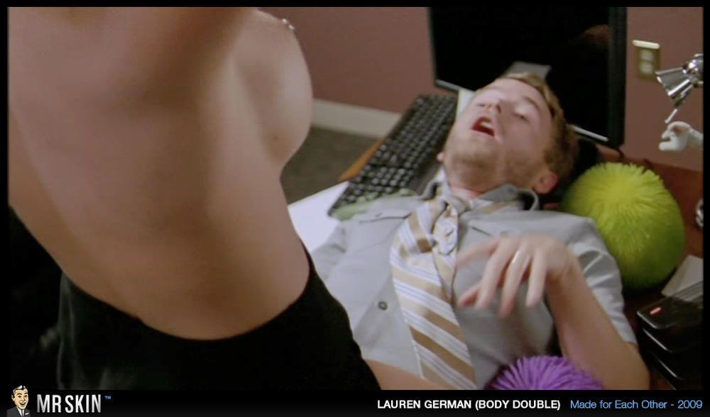 Lauren German Nipple